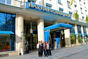Betriebsausflug in München 2012 Theater im Bayerischen Hof