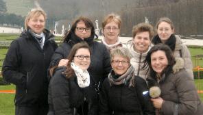 Betriebsausflug in Wien 2013 und Feier der 20 jährigen Zusammenarbeit mit dem Dentallabor Schwarz